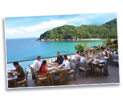 The Cliff Restaurant, Koh Samui